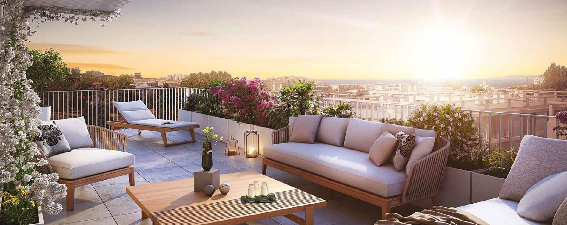 Marseille : programme immobilier neuve « Éloquence » en Loi Pinel