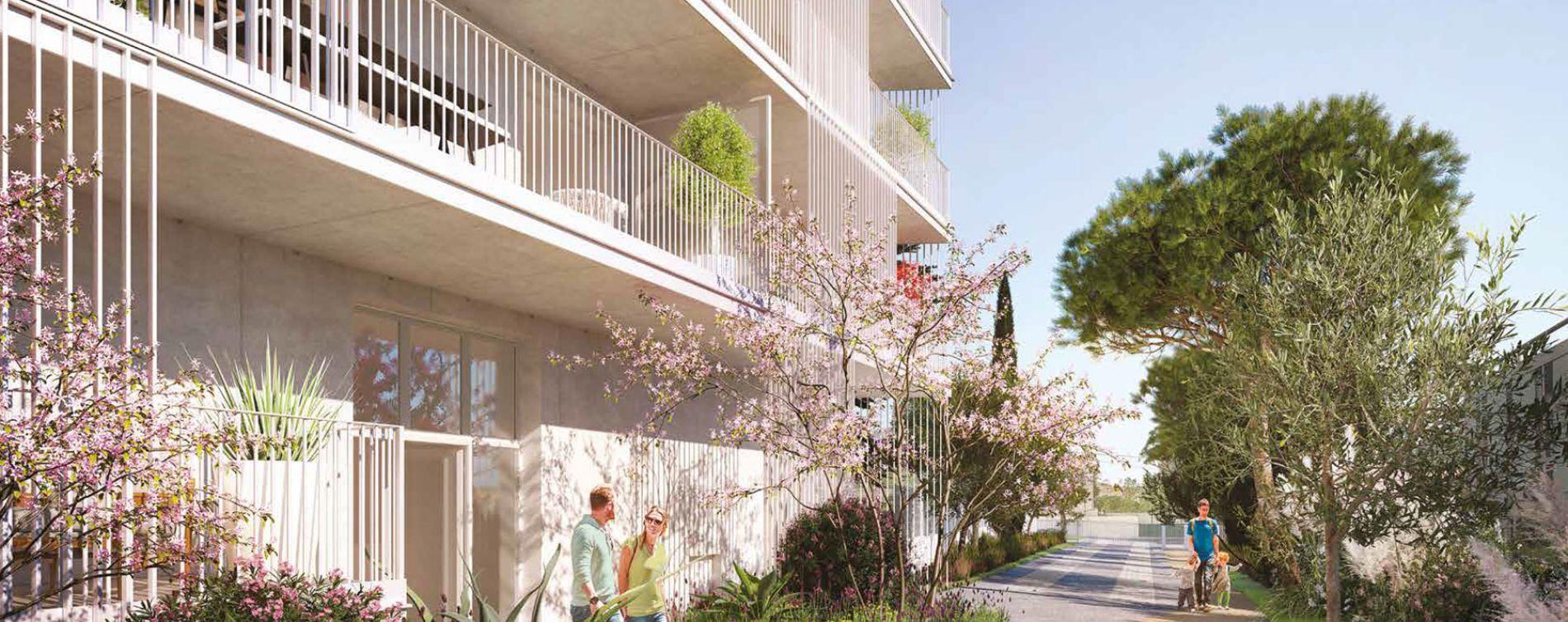 Marseille : programme immobilier neuve « Éloquence » en Loi Pinel (2)