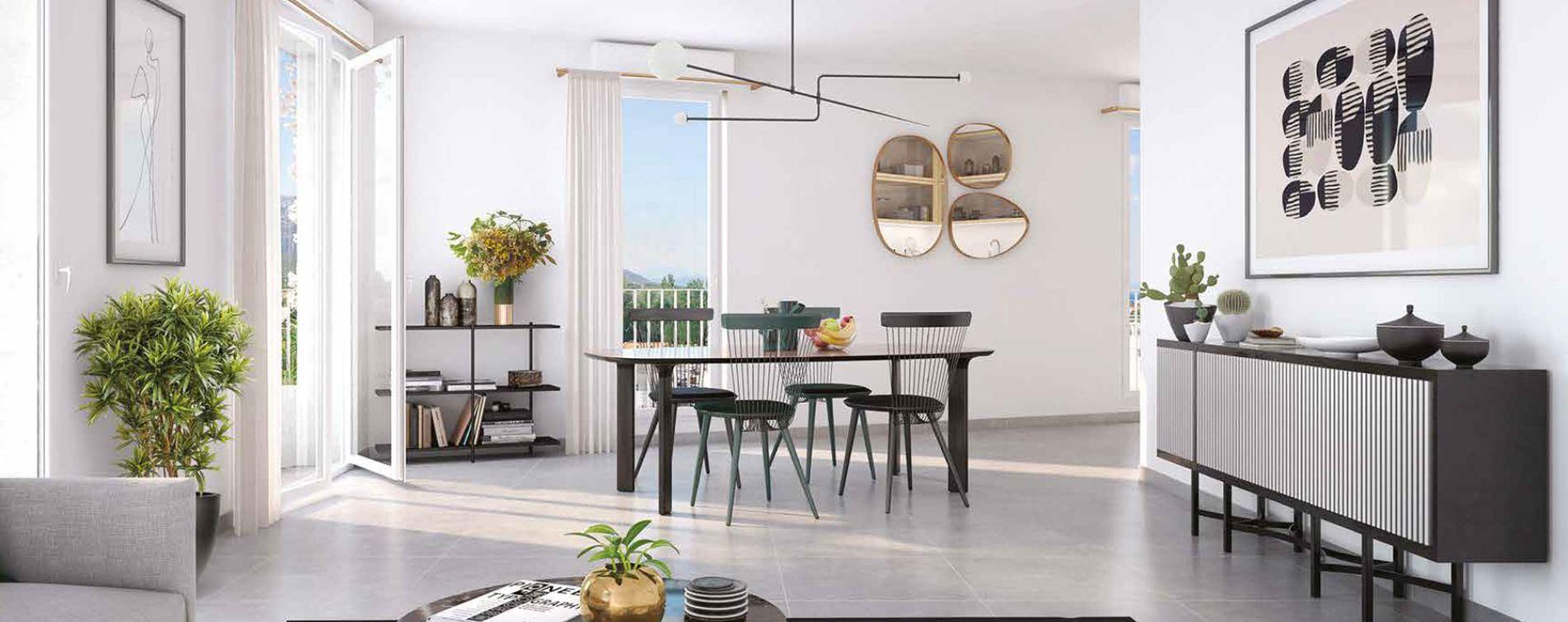 Marseille : programme immobilier neuve « Éloquence » en Loi Pinel (3)