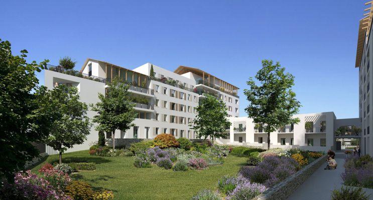 Marseille programme immobilier neuf « Envy » en Loi Pinel