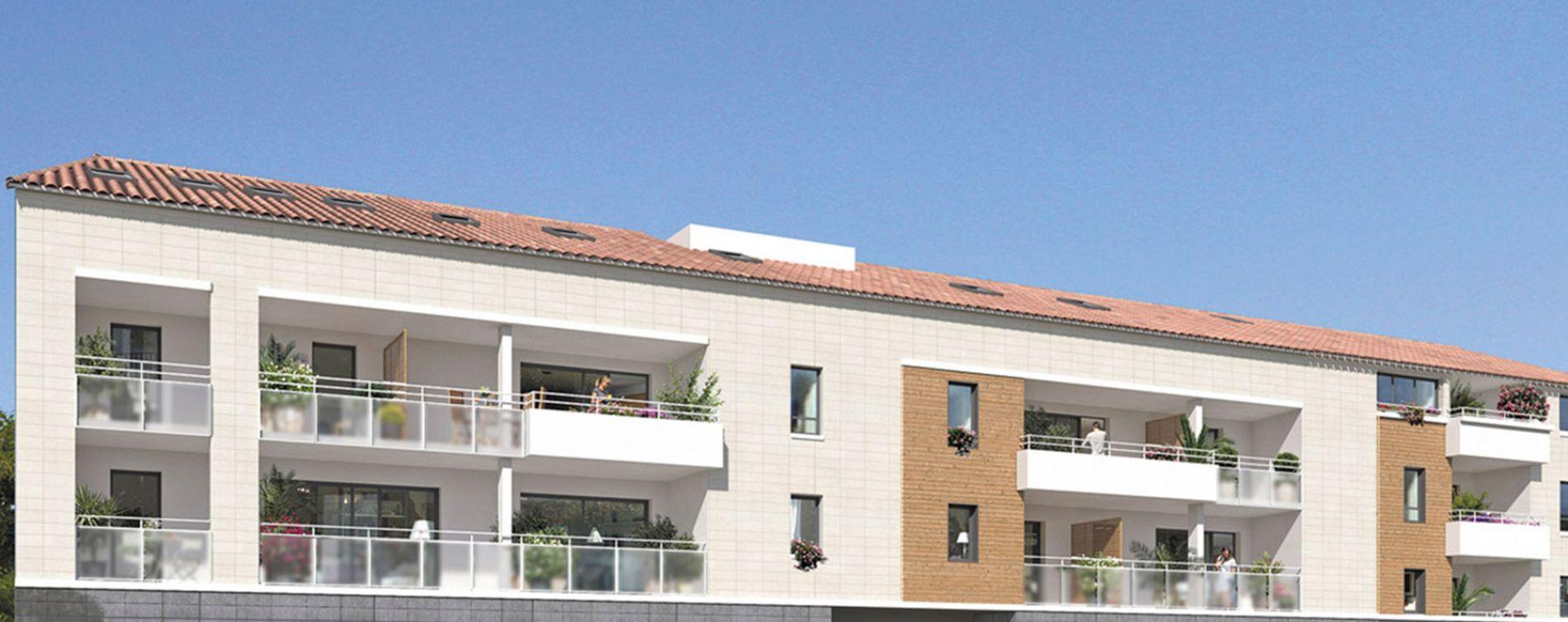 Résidence Esprit Calanques Bâtiment C à Marseille