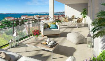 Photo du Résidence « Esprit Calanques Bâtiment C » programme immobilier neuf en Loi Pinel à Marseille
