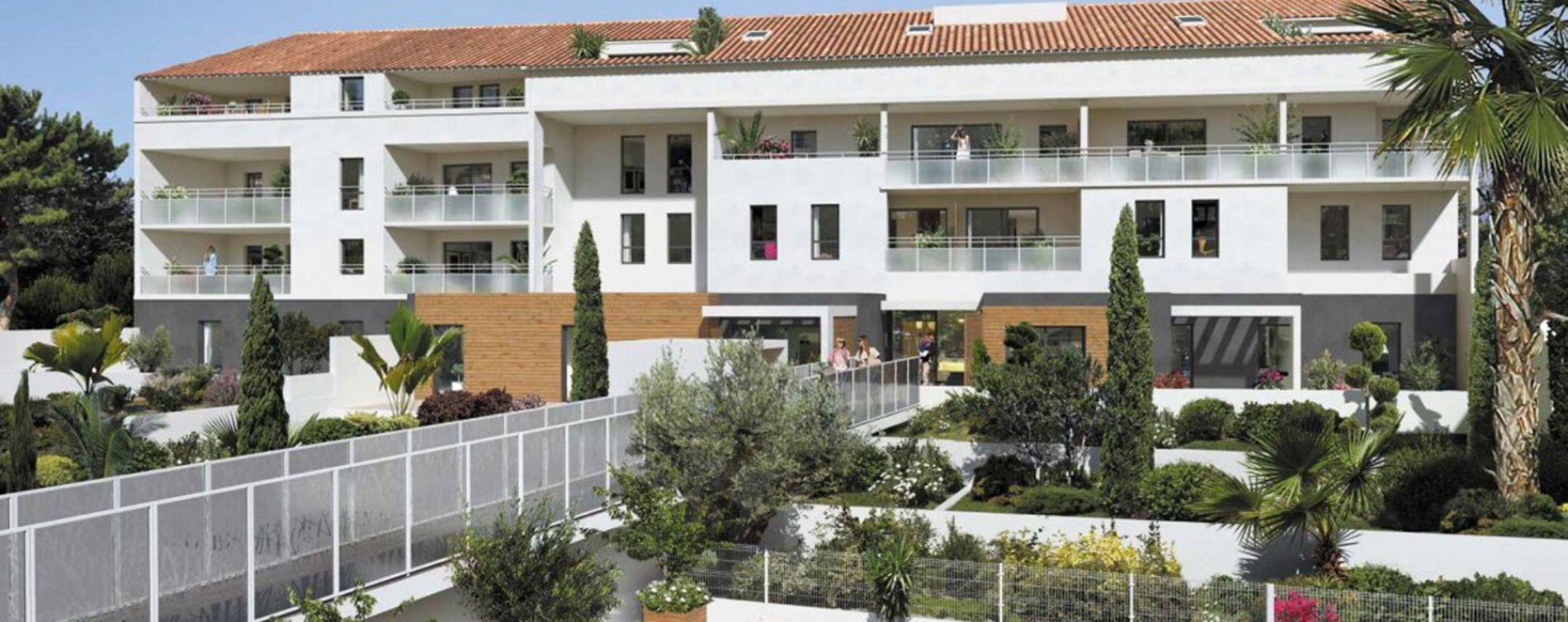Marseille : programme immobilier neuve « Esprit Calanques » en Loi Pinel