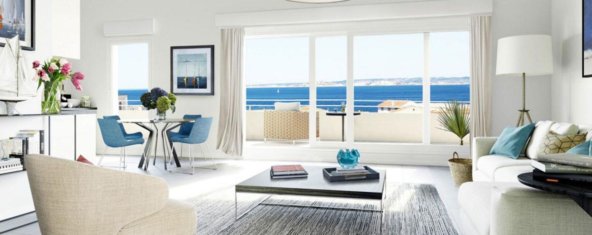 Marseille : programme immobilier neuve « Esprit Calanques » en Loi Pinel (3)