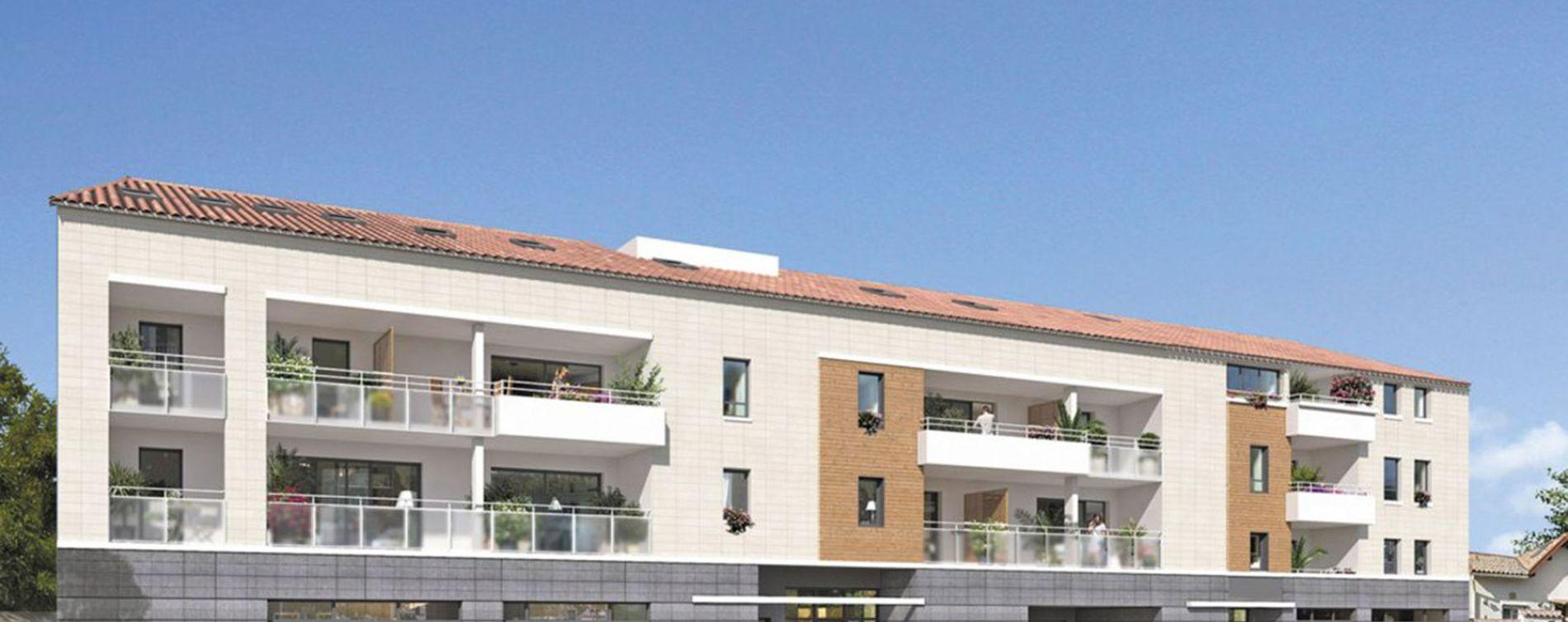 Marseille : programme immobilier neuve « Esprit Calanques » en Loi Pinel (4)