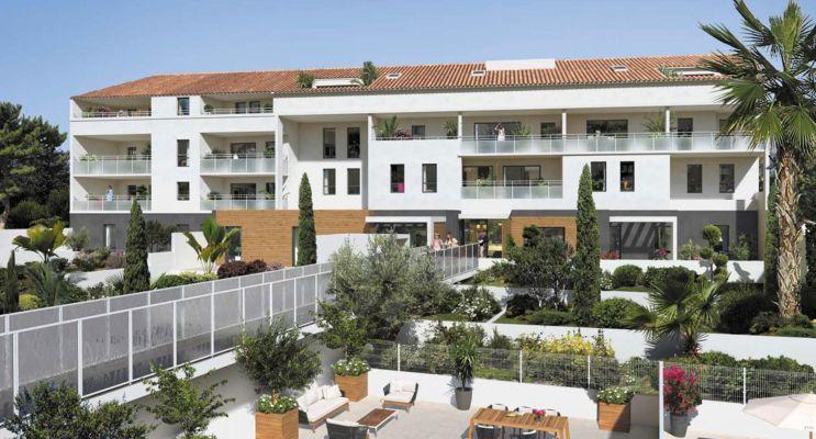 Marseille : programme immobilier neuf « Esprit Calanques » en Loi Pinel