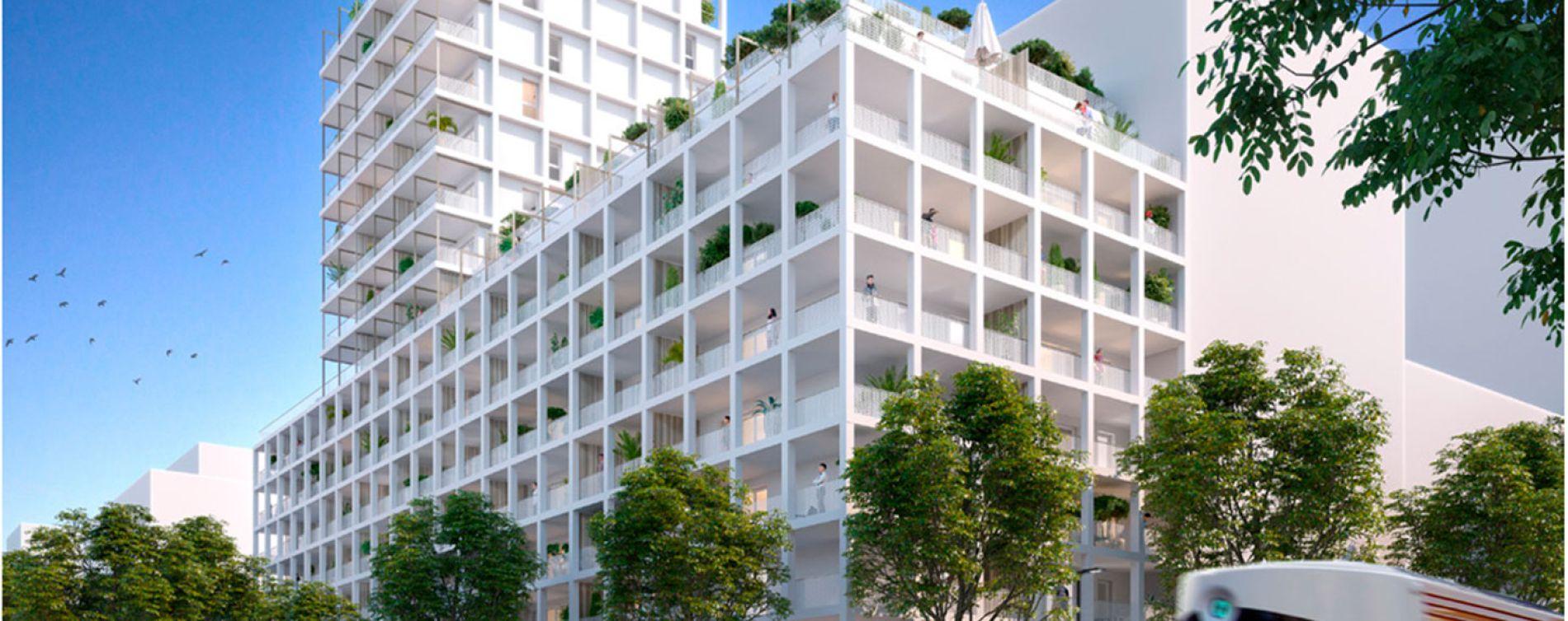 Marseille : programme immobilier neuve « Euroméditerranée - Les Fabriques » en Loi Pinel