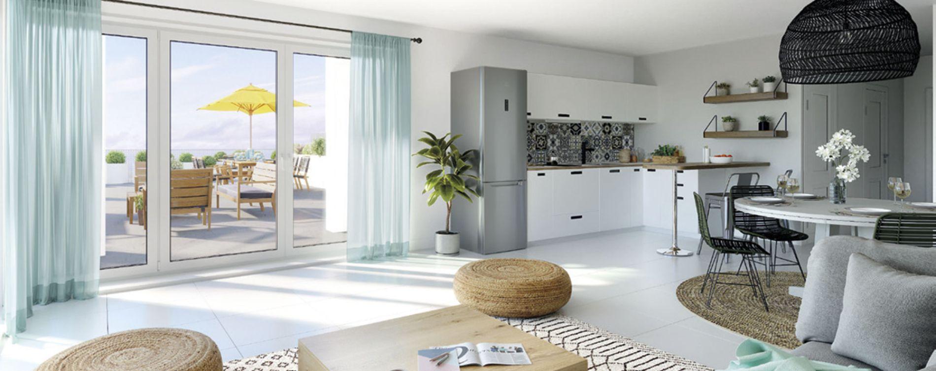 Marseille : programme immobilier neuve « Euroméditerranée - Les Fabriques » en Loi Pinel (3)