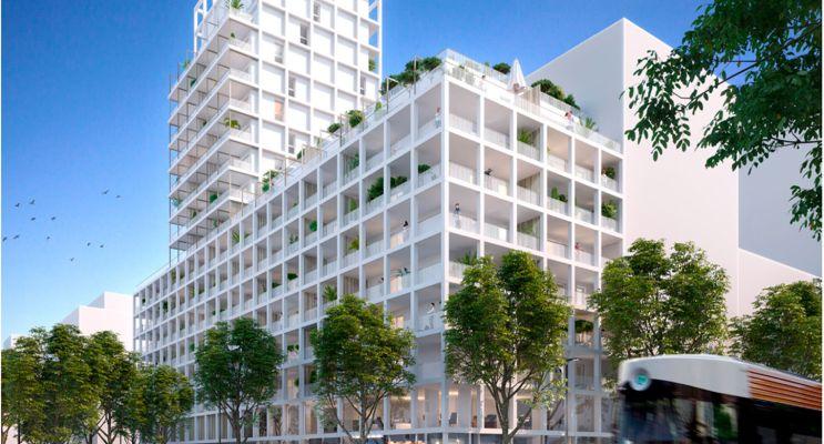 Marseille : programme immobilier neuf « Euroméditerranée - Les Fabriques » en Loi Pinel