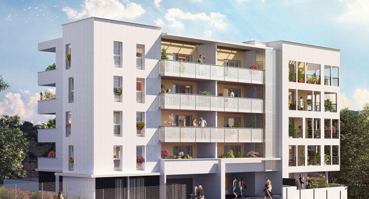 Marseille : programme immobilier neuf « Floréa » en Loi Pinel