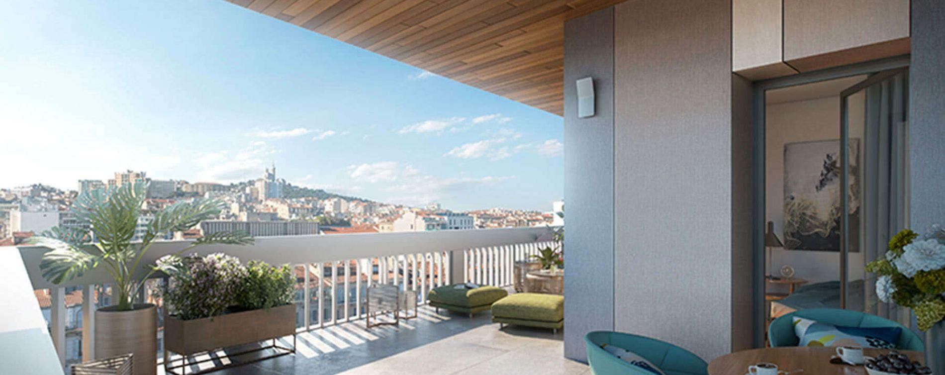 Résidence Initial Prado à Marseille
