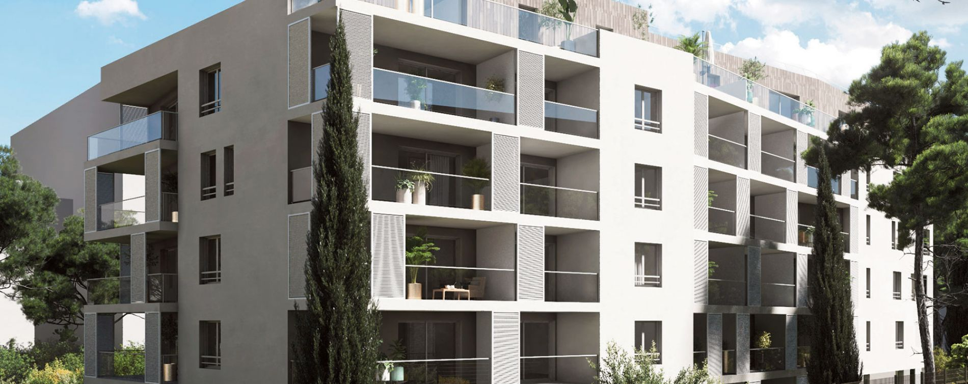 Marseille : programme immobilier neuve « In'JOY » en Loi Pinel