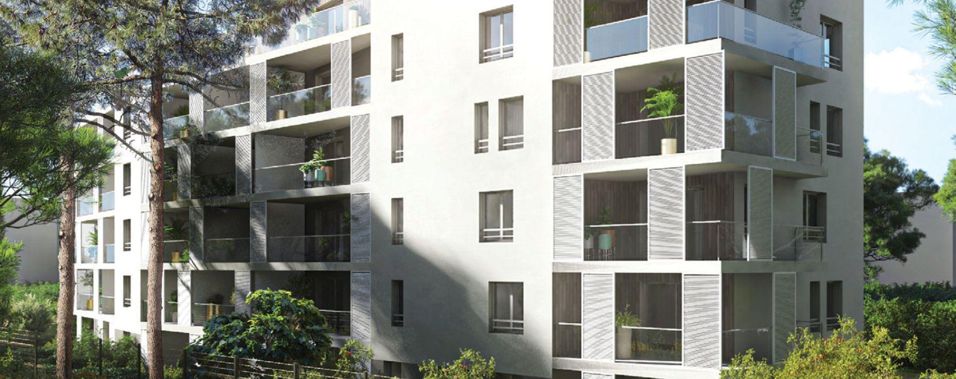 Marseille : programme immobilier neuve « In'JOY » en Loi Pinel (2)