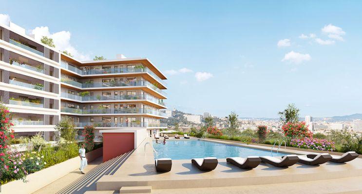 Résidence « Le Bao » programme immobilier neuf en Loi Pinel à Marseille n°3