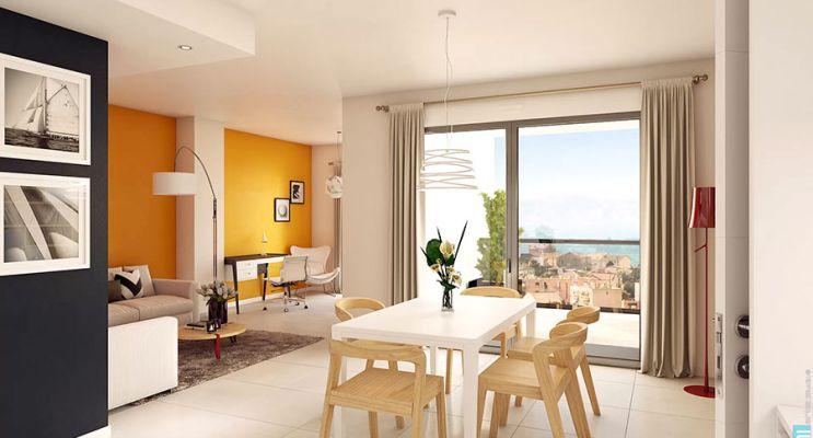 Résidence « Le Bao » programme immobilier neuf en Loi Pinel à Marseille n°5