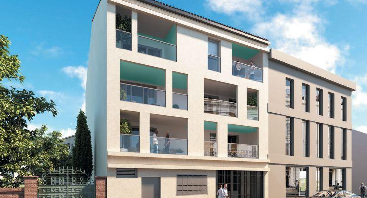 Photo n°1 du Résidence « Le Hameau De Valentine » programme immobilier neuf en Loi Pinel à Marseille