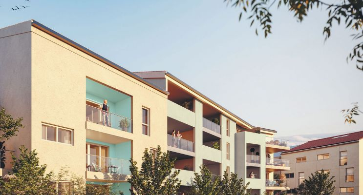 Photo n°2 du Résidence « Le Hameau De Valentine » programme immobilier neuf en Loi Pinel à Marseille