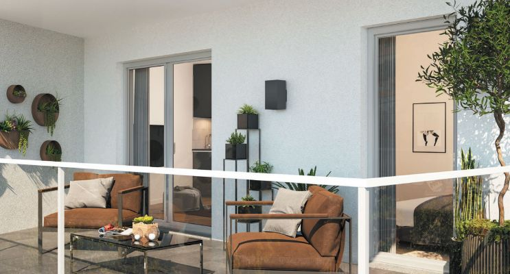 Photo n°3 du Résidence « Le Hameau De Valentine » programme immobilier neuf en Loi Pinel à Marseille