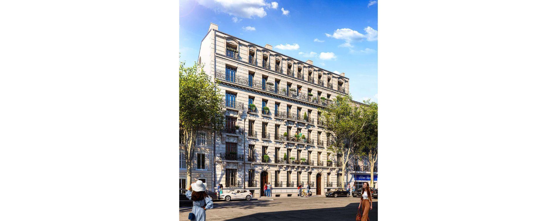 Marseille : programme immobilier neuve « Les Balcons de Massalia » en Nue Propriété