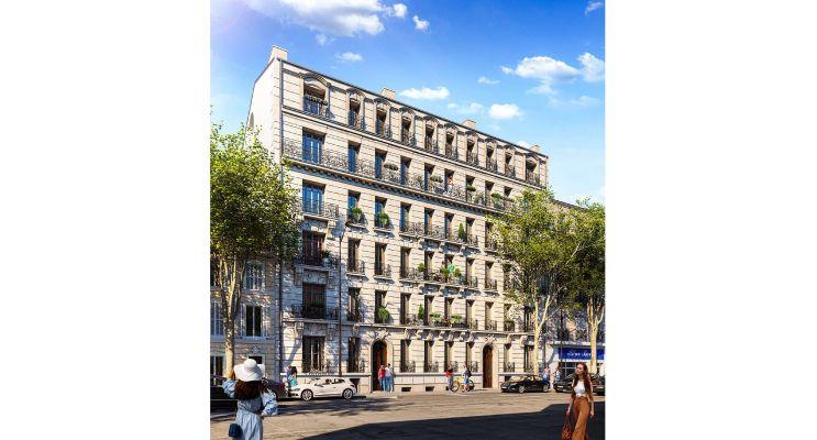 Photo du Résidence « Les Balcons de Massalia » programme immobilier neuf en Nue Propriété à Marseille