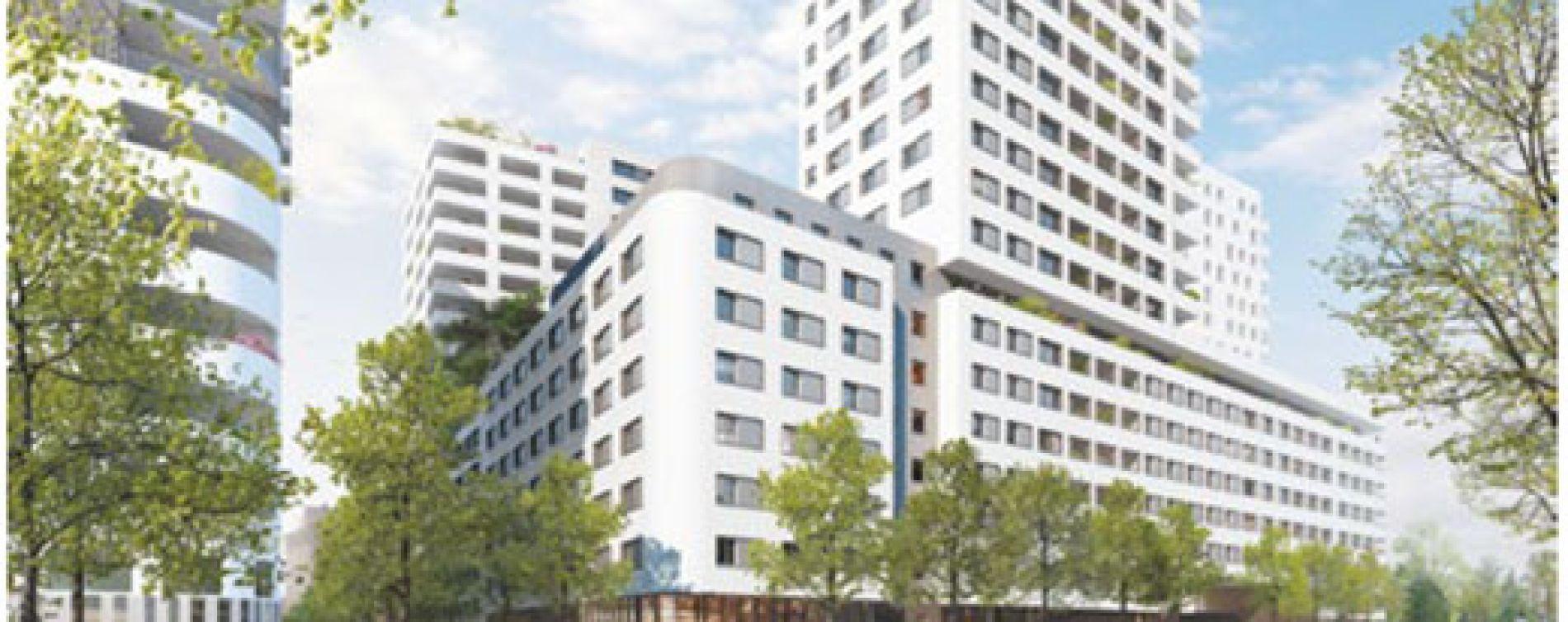 Marseille : programme immobilier neuve « Les Docks Libres 2 »