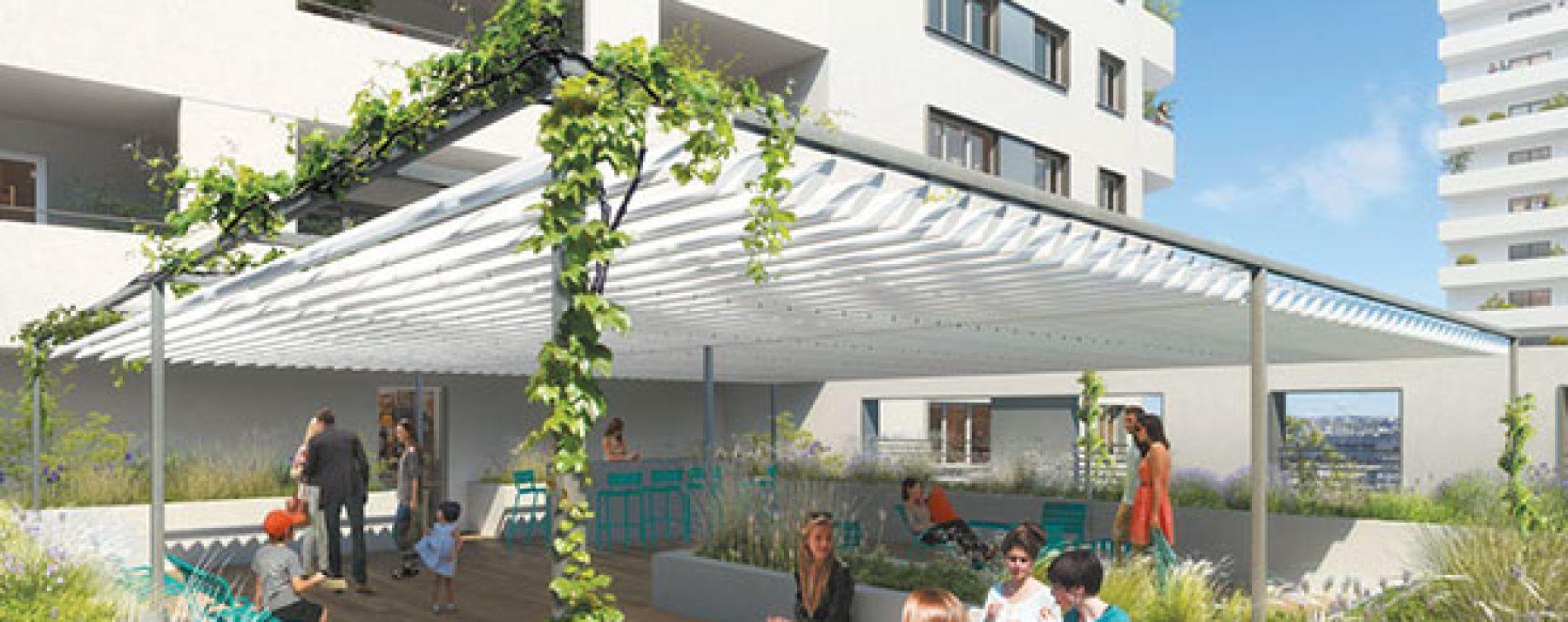 Marseille : programme immobilier neuve « Les Docks Libres 2 » (4)