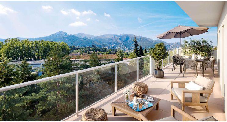 Résidence « Les Jardins Des Accates » programme immobilier neuf en Loi Pinel à Marseille n°1