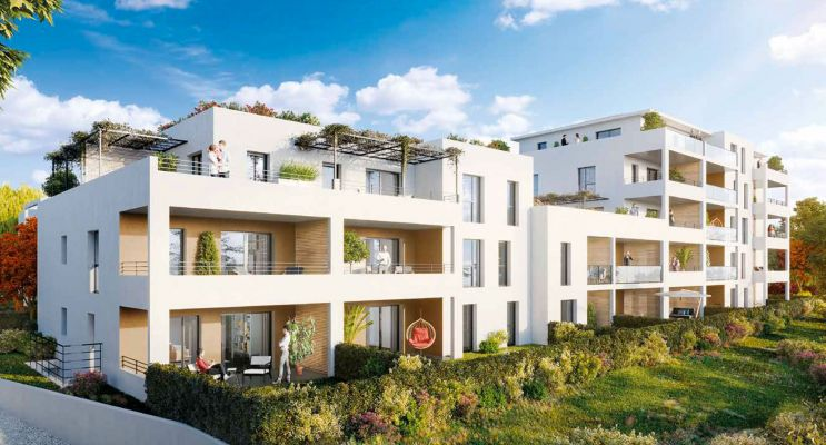 Résidence « Les Jardins Des Accates » programme immobilier neuf en Loi Pinel à Marseille n°2