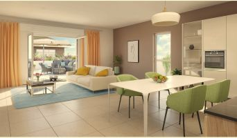 Photo n°2 du Résidence « Les Jardins Gombert » programme immobilier neuf en Loi Pinel à Marseille
