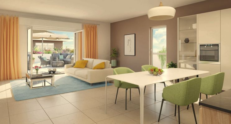 Résidence « Les Jardins Gombert » programme immobilier neuf en Loi Pinel à Marseille n°2