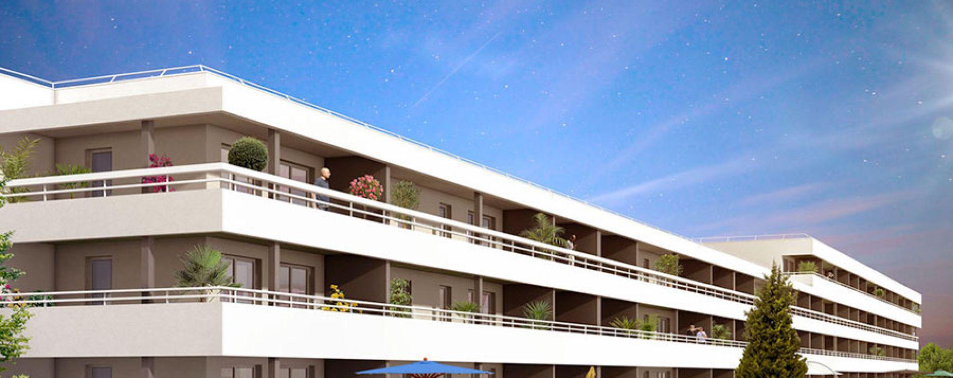 ligne bleue marseille programme immobilier neuf n 212539. Black Bedroom Furniture Sets. Home Design Ideas