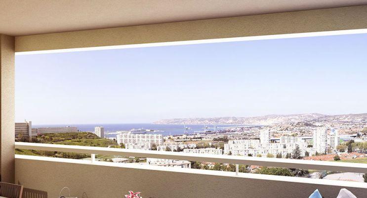 Résidence « Ligne Bleue » programme immobilier neuf en Loi Pinel à Marseille n°2
