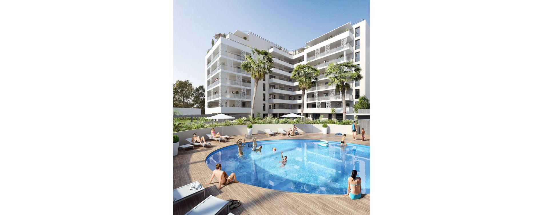 Marseille : programme immobilier neuve « Mée Vues » en Loi Pinel