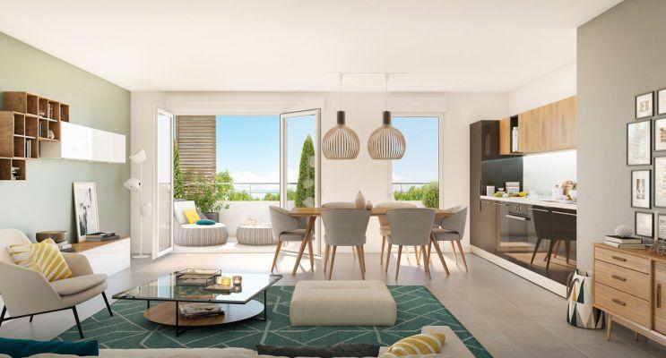 Résidence « Perspective(S) » programme immobilier neuf en Loi Pinel à Marseille n°3