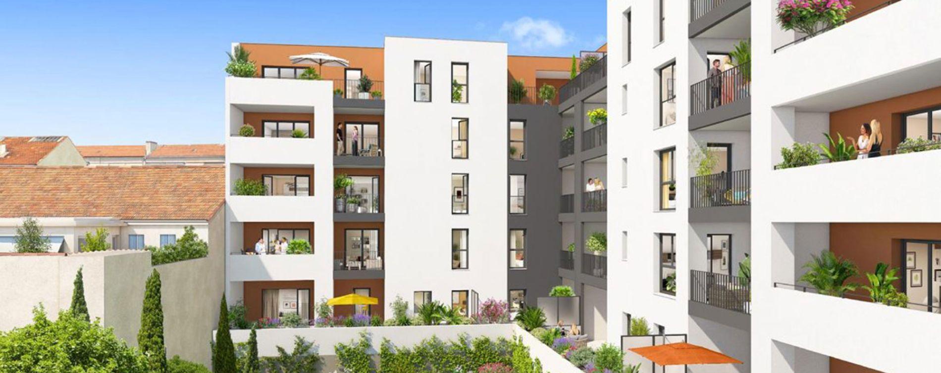 Marseille : programme immobilier neuve « Privilège 5ème »