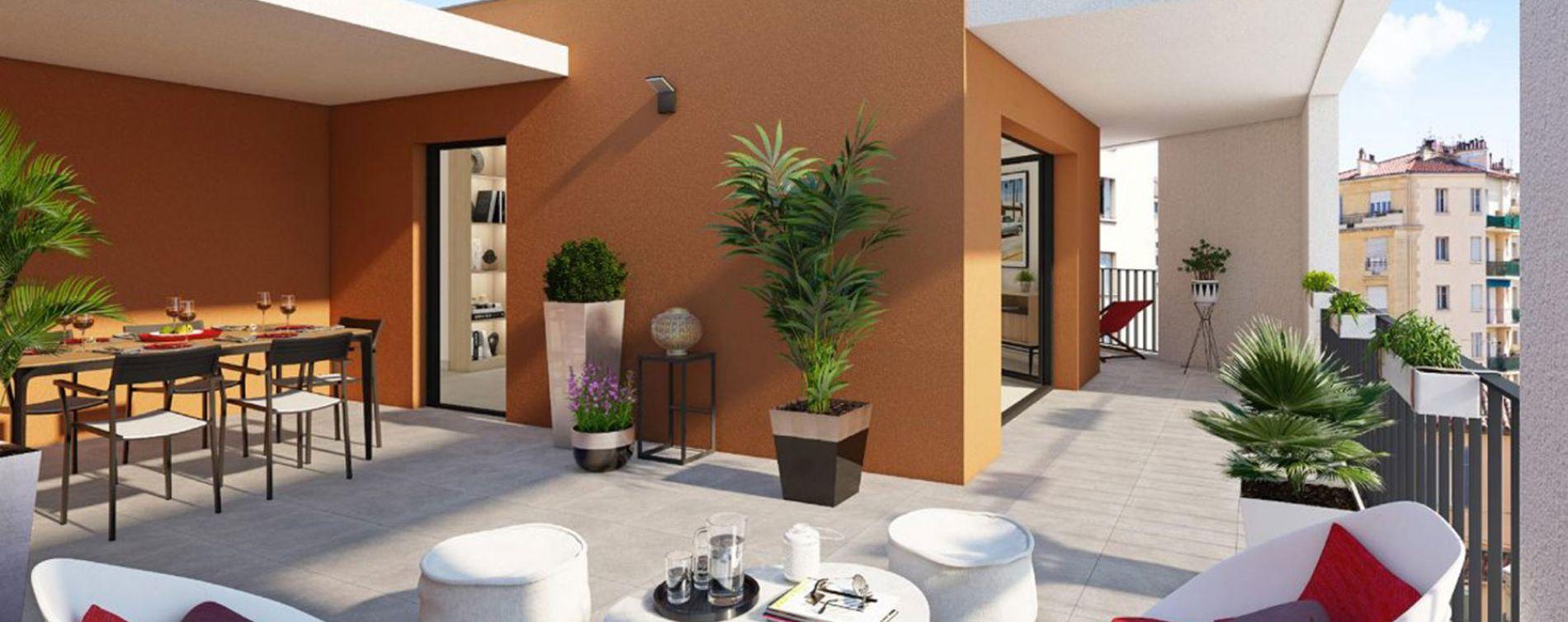 Marseille : programme immobilier neuve « Privilège 5ème » (2)