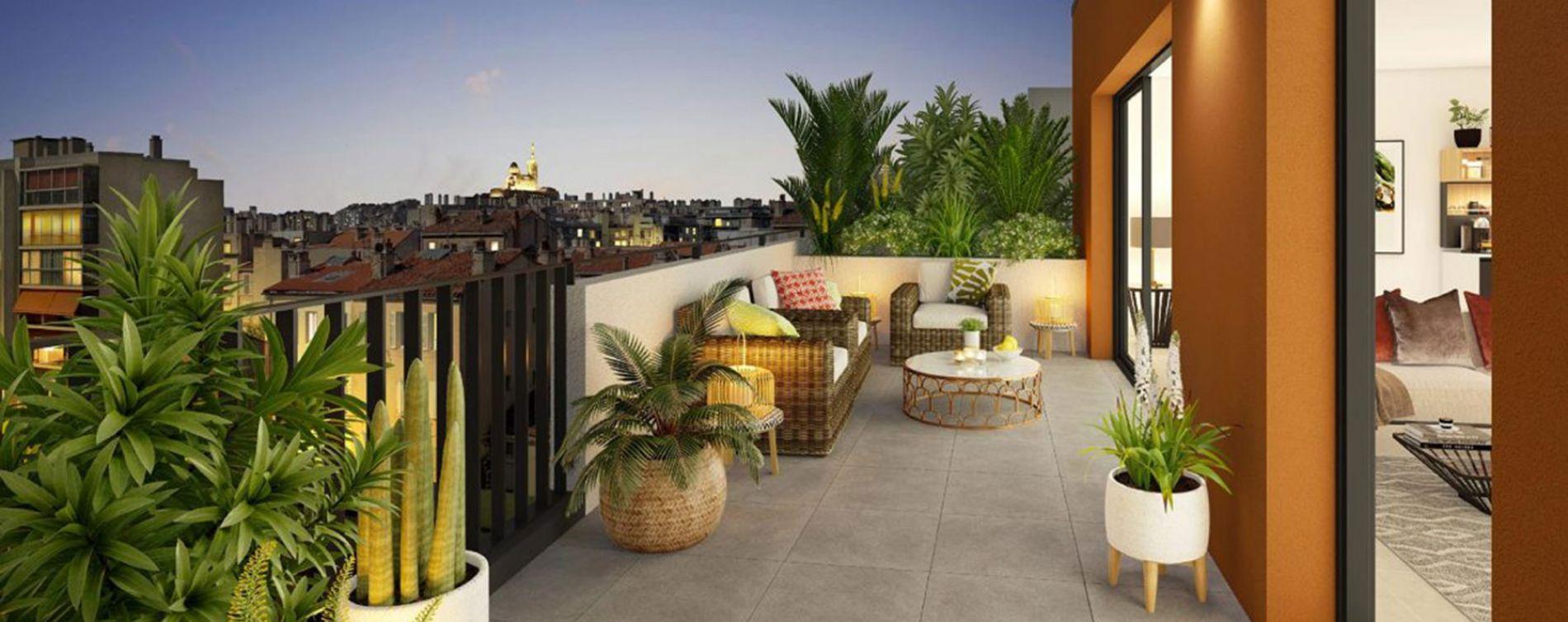 Marseille : programme immobilier neuve « Privilège 5ème » (3)