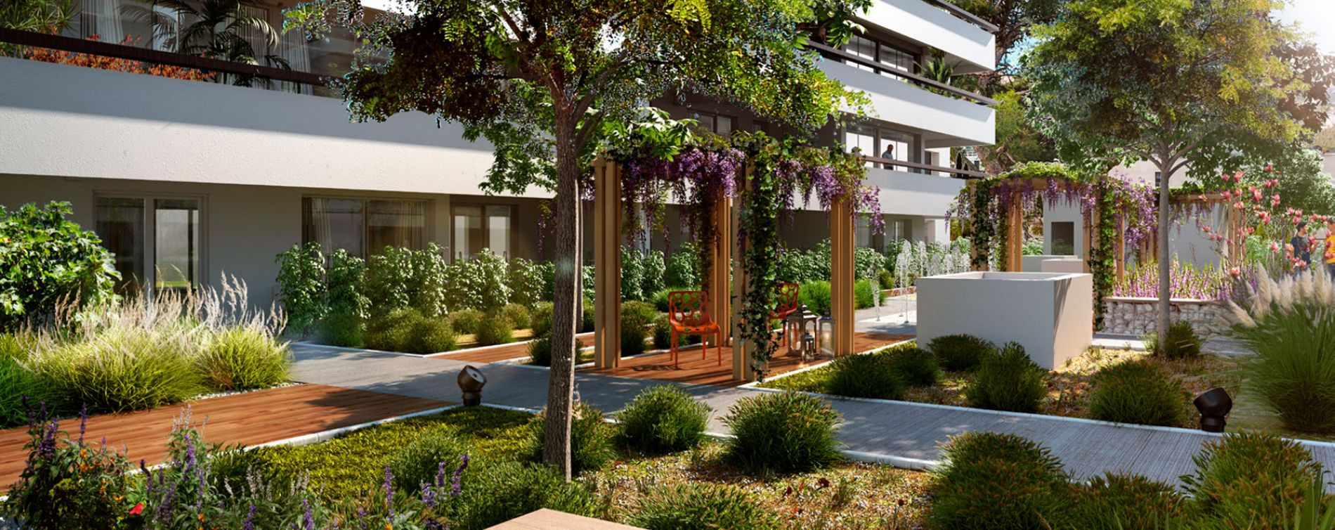 Marseille : programme immobilier neuve « Roof Garden »