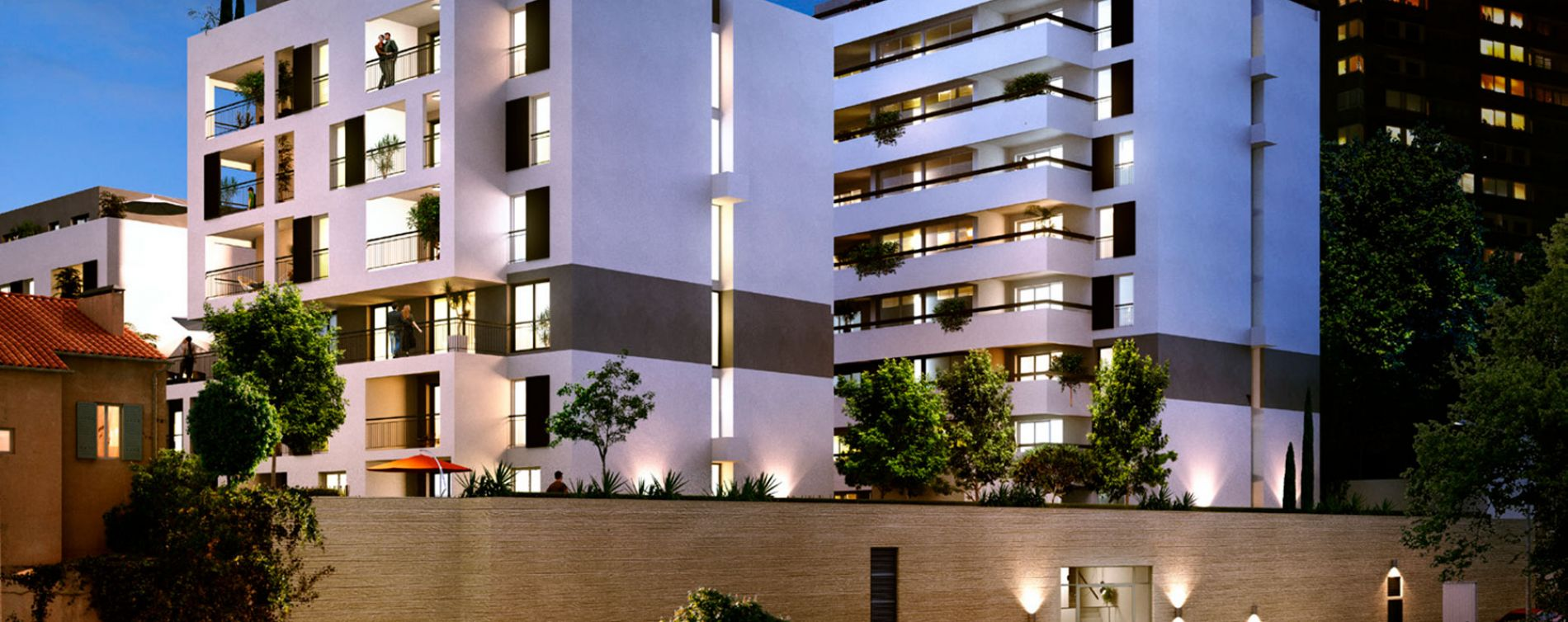 Marseille : programme immobilier neuve « Roof Garden » (3)