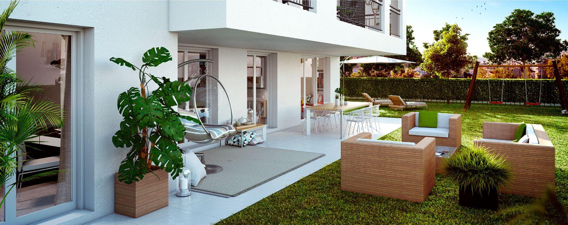 Marseille : programme immobilier neuve « Roof Garden » (4)