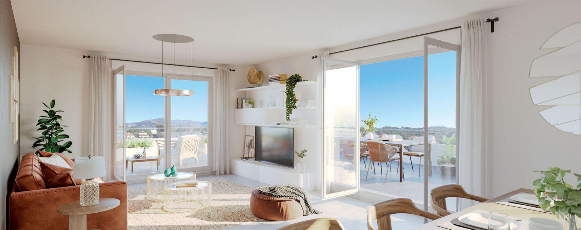 Marseille : programme immobilier neuve « Rubis Garden » en Loi Pinel (3)