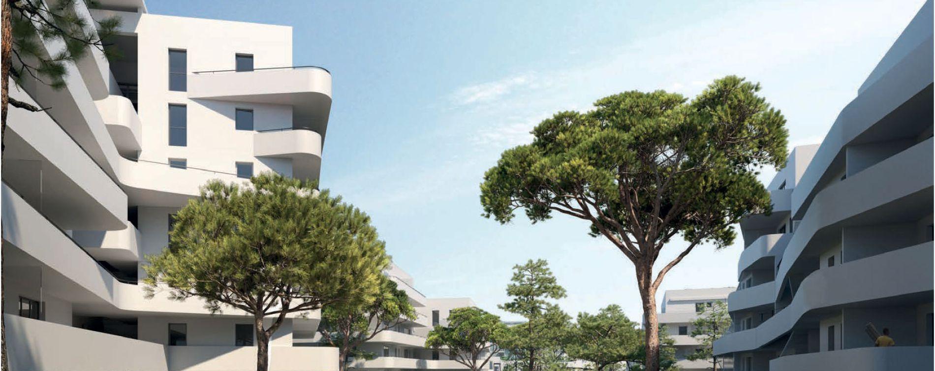 Marseille : programme immobilier neuve « Seconde Nature » en Loi Pinel (2)