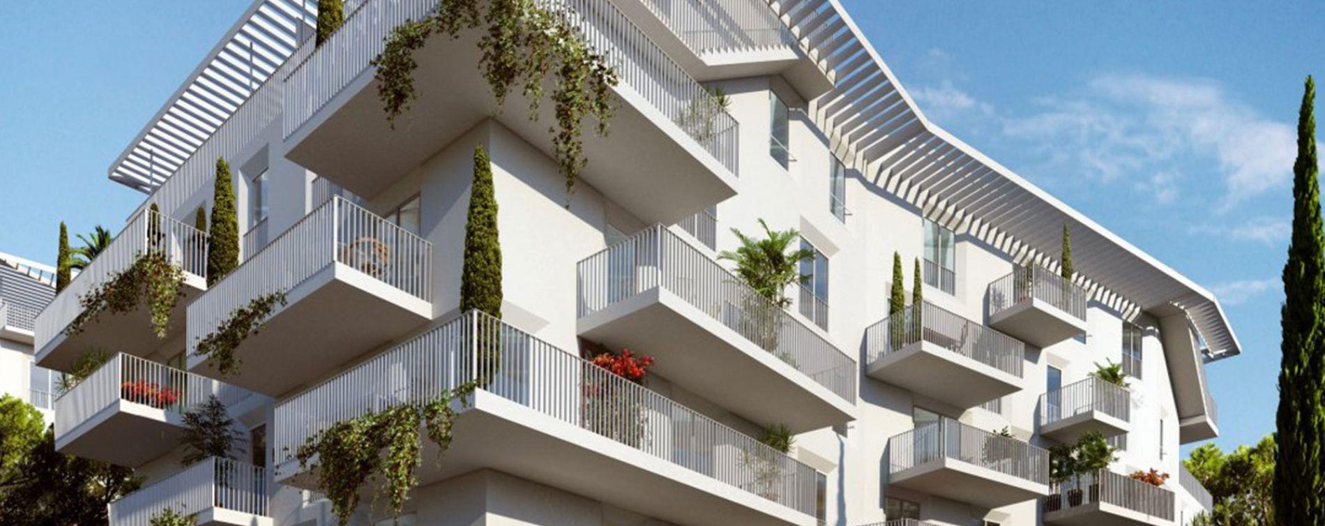 Marseille : programme immobilier neuve « Signature Tr2 » en Loi Pinel