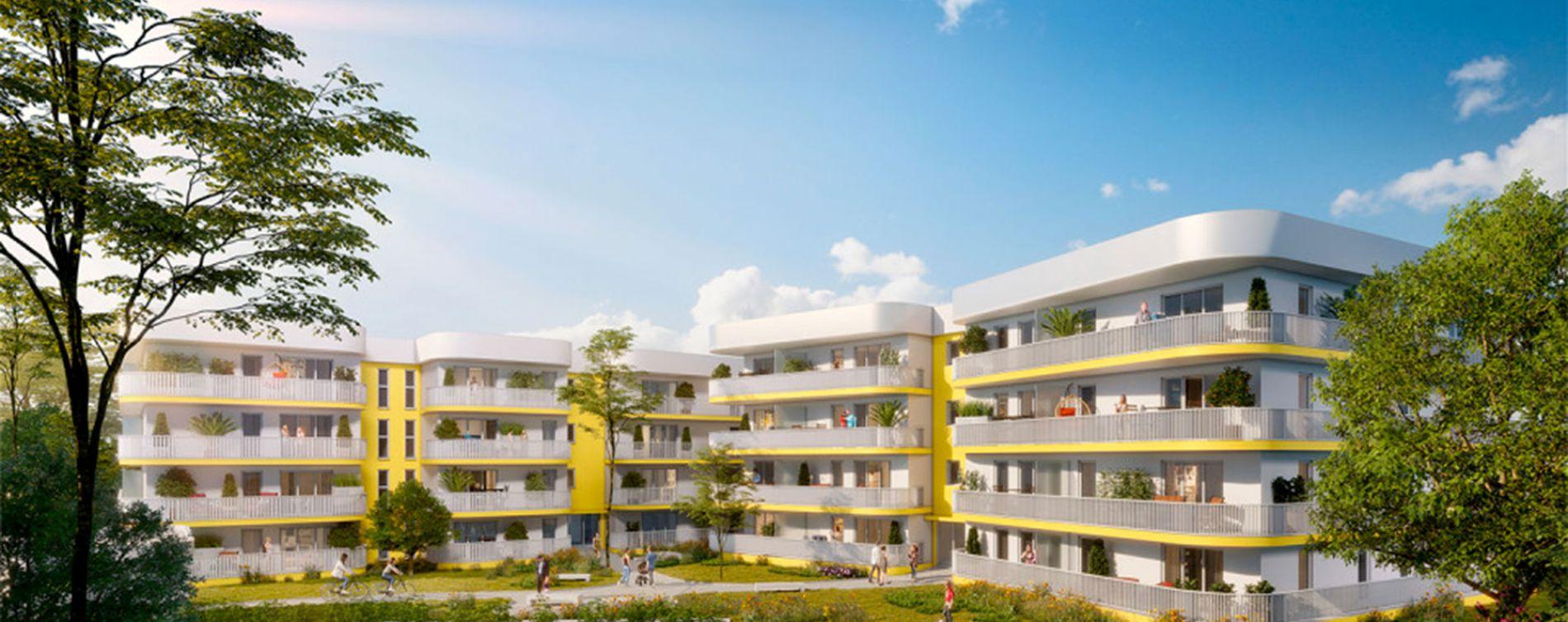 Marseille : programme immobilier neuve « So Saint Mitre 2 »