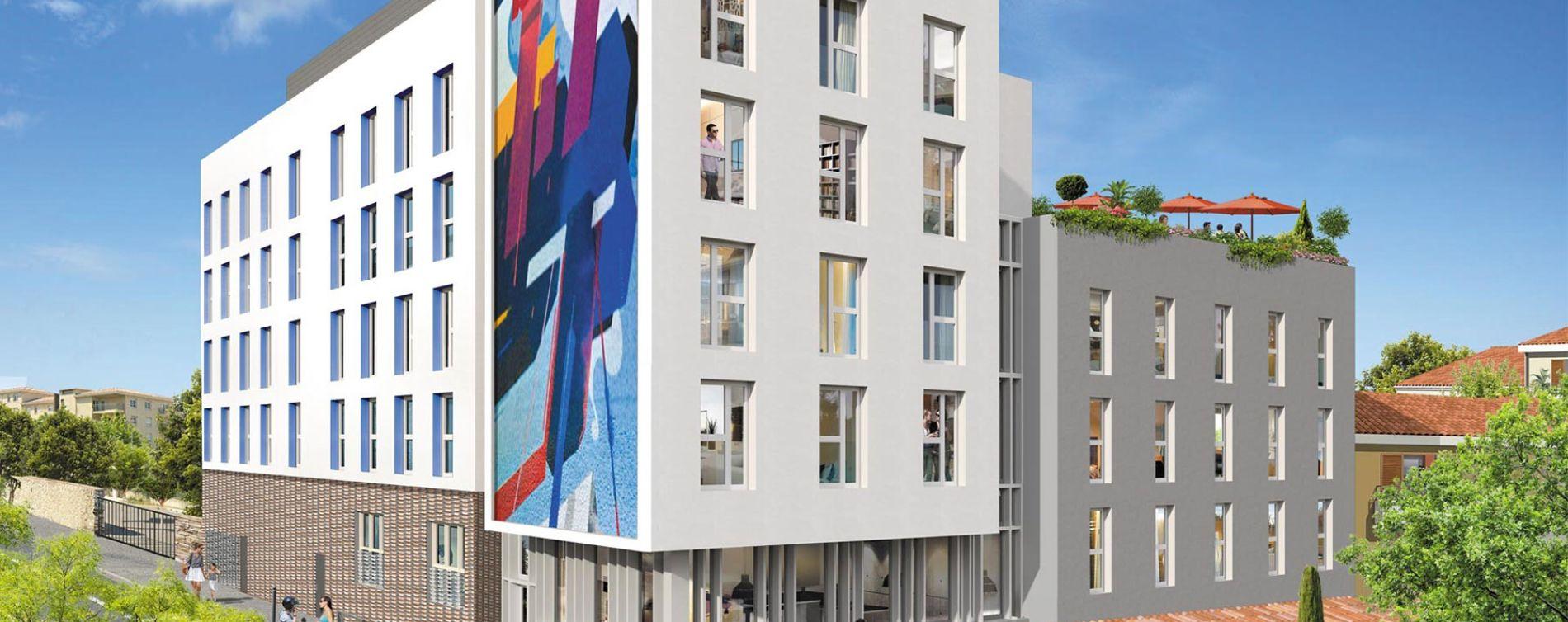 Marseille : programme immobilier neuve « Stud Timone »