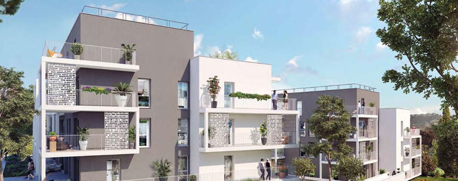 Marseille : programme immobilier neuve « Via Terra » en Loi Pinel