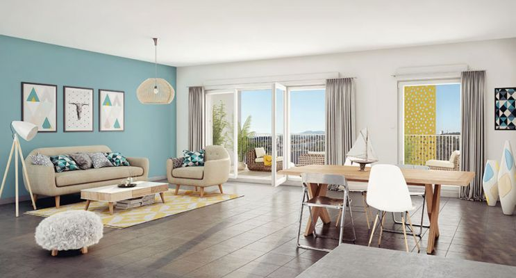 Résidence « Via Verde » programme immobilier neuf en Loi Pinel à Marseille n°2