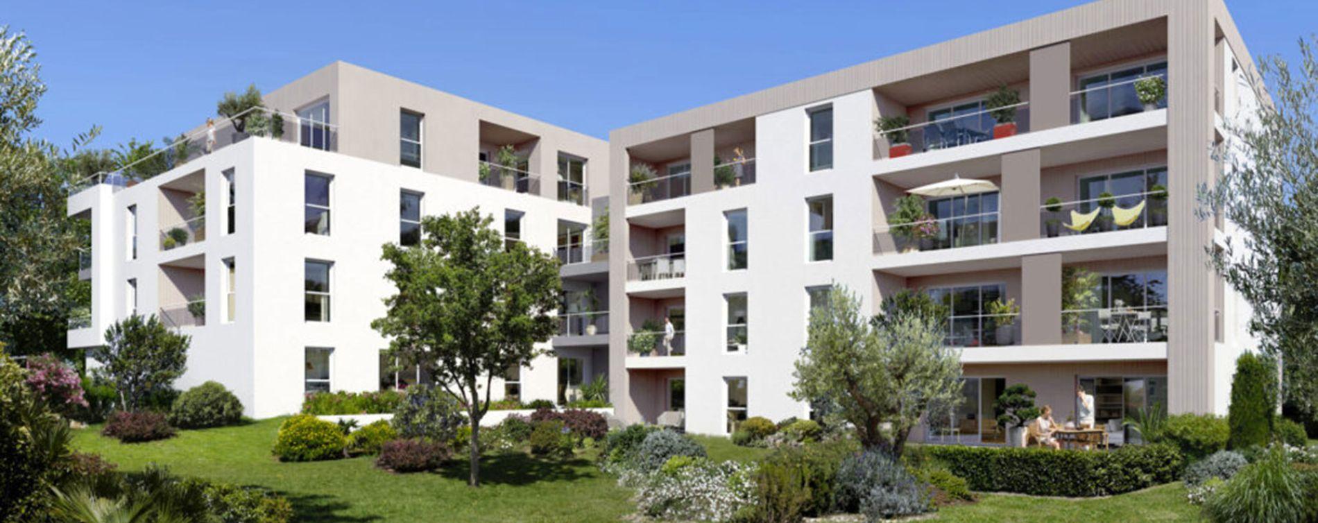 Marseille : programme immobilier neuve « Programme immobilier n°218319 » en Loi Pinel