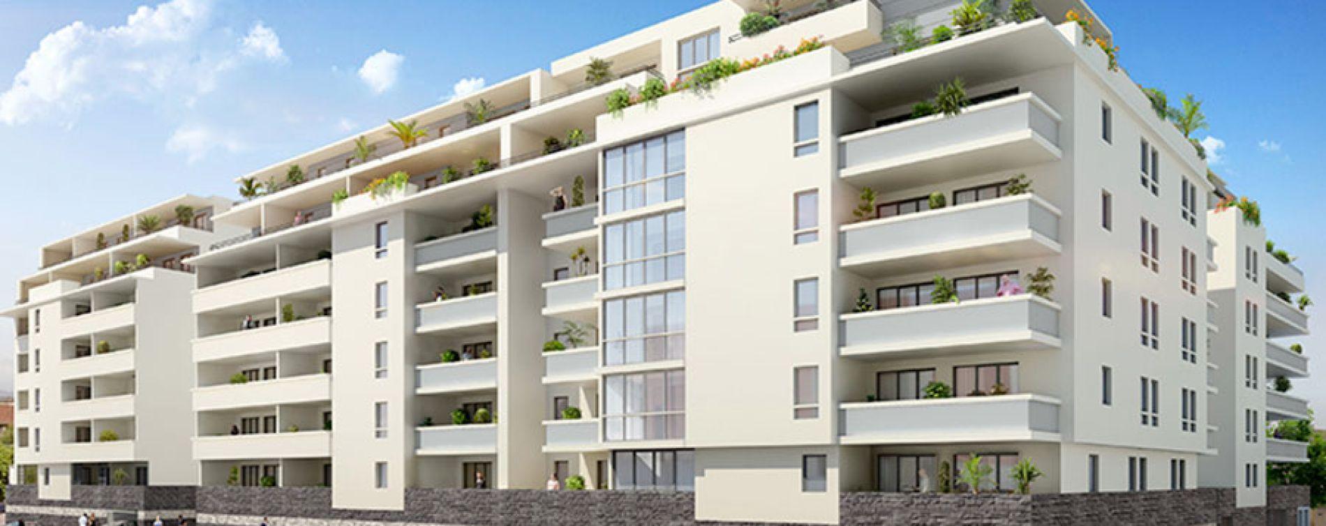Marseille : programme immobilier neuve « Village Méditerranée » en Loi Pinel (2)
