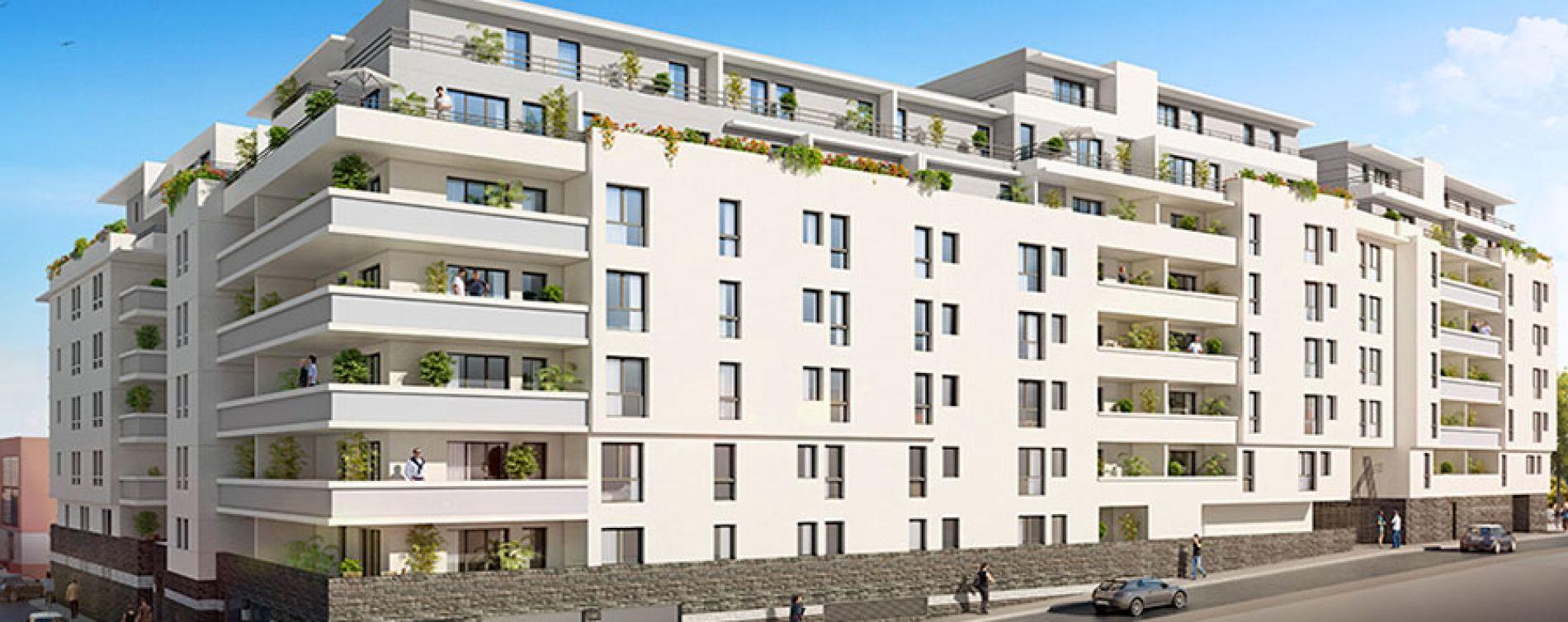 Marseille : programme immobilier neuve « Village Méditerranée » en Loi Pinel (3)